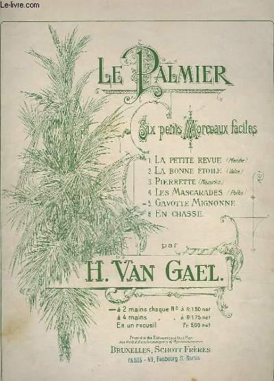 LE PALMIER : SIX PETITS MORCEAUX FACILES : N° 5 : GAVOTTE MIGNONNE - POUR PIANO A 2 MAINS.