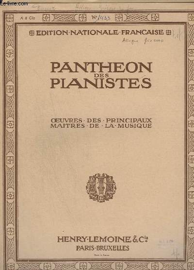 OEUVRES DES PRINCIPAUX MAITRES DE LA MUSIQUE : ALLEGRO GIOCOSO - POUR PIANO.