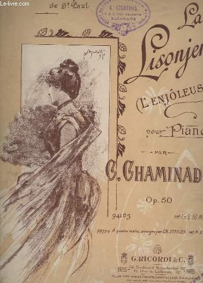 LA LISONJERA (L'ENJOLEUSE) POUR PIANO - OP. 50.