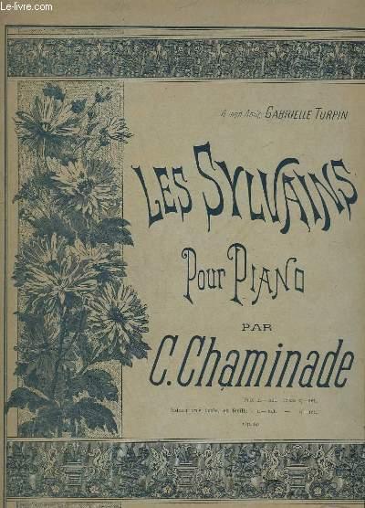 LES SYLVAINS - POUR PIANO - OP. 60.