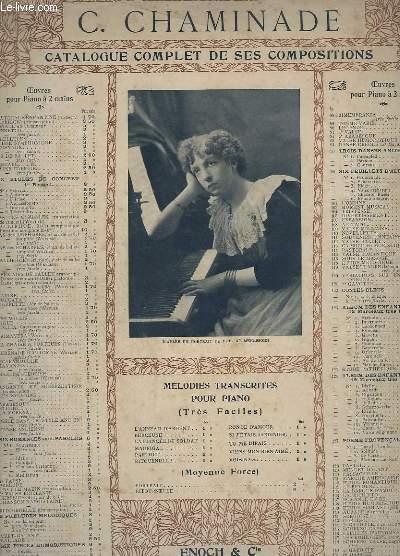 CATALOGUE COMPLET DE SES COMPOSITION - OP. 152 : INTERLUDE - POUR PIANO A 2 MAINS.