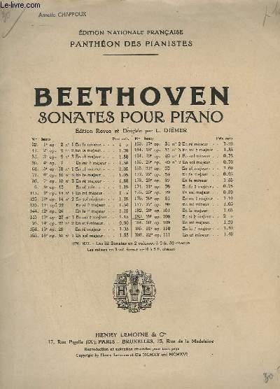 SONATES POUR PIANO - N° 183 - OP. 106. : 29° SONATE EN SI B MAJEUR.