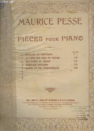 PIECES POUR PIANO - N°2 : AU TAPIS DES PRES EN FLEURS.
