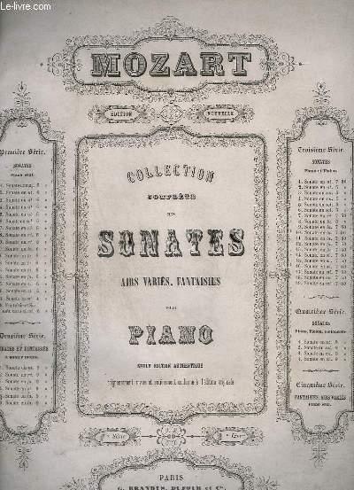 SONATES POUR PIANO - SERIE 1 _ N°2 : SONATE EN UT.