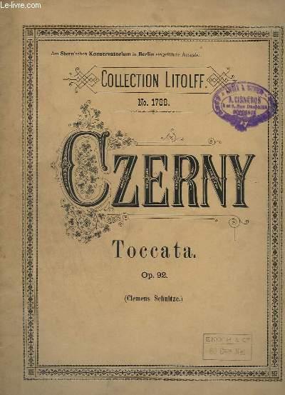 TOCCATA - OP. 92 - NO. 1788 - PIANO.