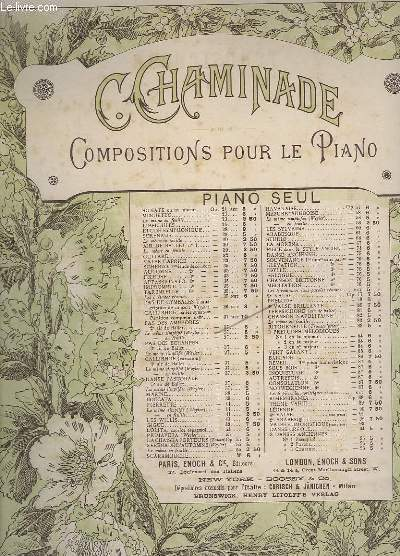 COMPOSITIONS POUR PIANO SEUL - TERPSICHORE, 6° AIR DE BALLET - OP.81.