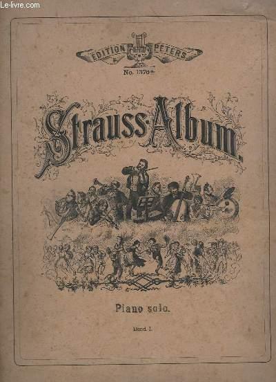 STRAUSS - ALBUM - PIANO SOLO - TOME 1.