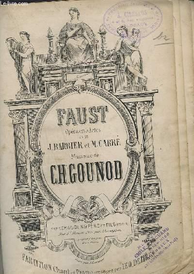 FAUST - OPERA EN 5 ACTES - PIANO.