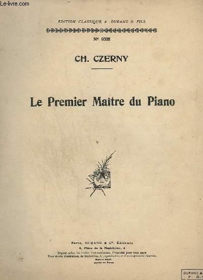 LE PREMIER MAITRE DU PIANO - N° 9332.