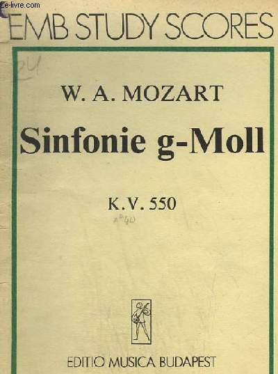 SINFONIE G-MOLL - K.V.550.