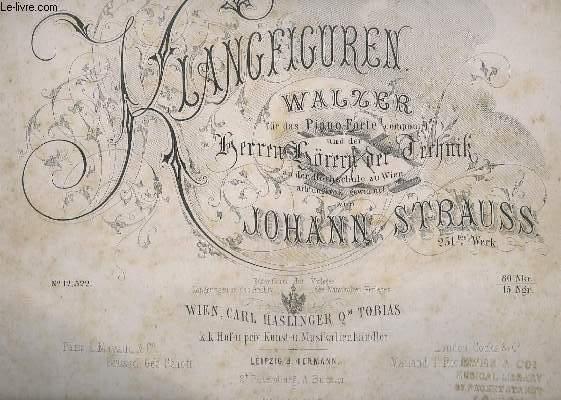 KLANGFIGUREN - WALZER - N° 12,522.- POUR PIANO.