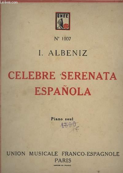 CELEBRE SERENATA ESPANOLA - PIANO SEUL.