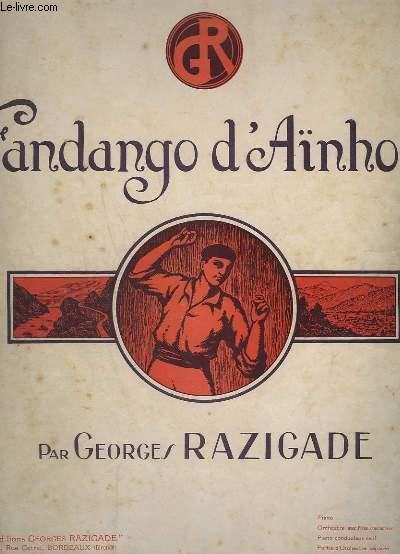 FANDANGO D'AINHOA - POUR PIANO.