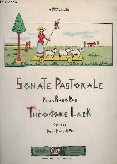 SONATE PASTORALE - POUR PIANO - OP.253.