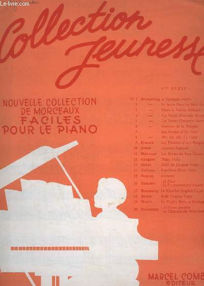 A GRENADE - BOLERO - N° 1 - POUR PIANO.