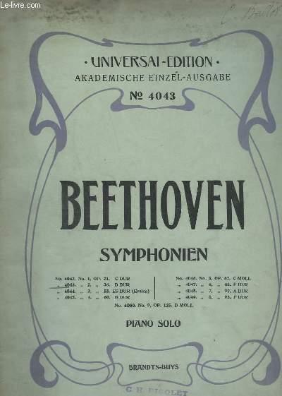 SYMPHONIEN N° 4043. - N°2 : OP.36 D DUR - PIANO SOLO.