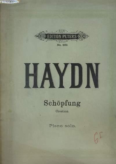 SCHOPFUNG / CREATION - PIANO SOLO - THEIL 1 + THEIL 2 + THEIL 3.