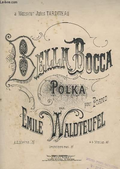 BELLA BOCCA - POLKA - POUR PIANO A 2 MAINS.