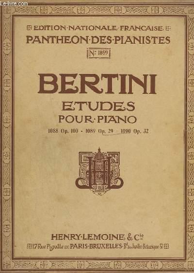 25 ETUDES POUR LE PIANO - INTRODUCTION A CELLES DE CRAMER - OP.29 - N°1089 - CAHIER N°2.