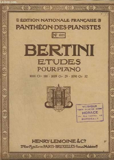 25 ETUDES POUR LE PIANO - OP.29 - N° 1089 - CAHIER 2.