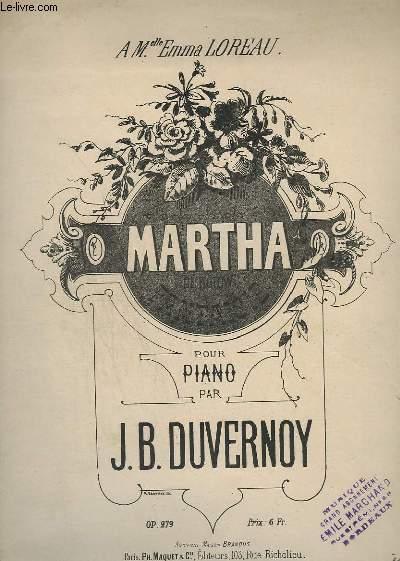 MARTHA - POUR PIANO - OP. 279.