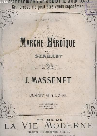 MARCHE HEROIQUE DE SZABADY - PIANO.