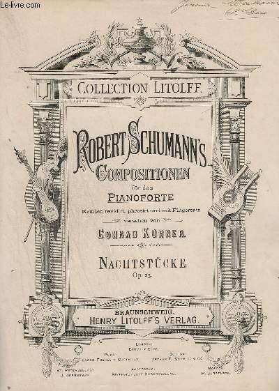 COMPOSITIONEN FUR DAS PIANOFORTE - NACHTSTÜCKE - OP.23.