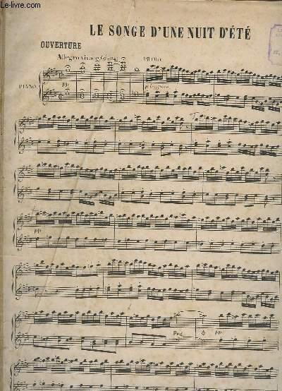 SONGE D'UNE NUIT D'ETE - POUR PIANO.