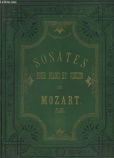 SONATES POUR PIANO ET VIOLON - 18 SONATES.