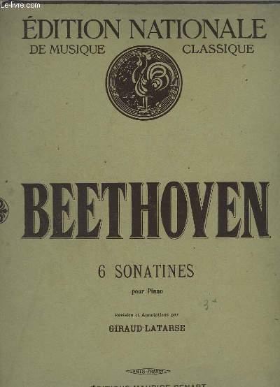 6 SONATINES POUR PIANO.