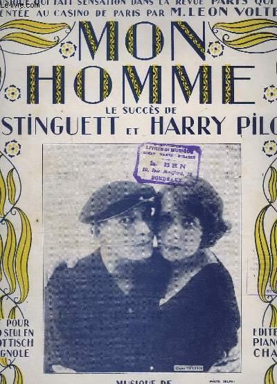 MON HOMME - SCHOTTISCH ESPAGNOLES - POUR PIANO.