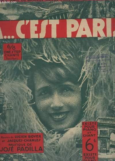 CA...C'EST PARIS - PIANO.
