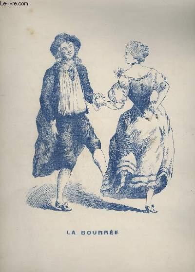 LA BOURREE + LE MENUET + LA GAVOTTE - POUR PIANO.