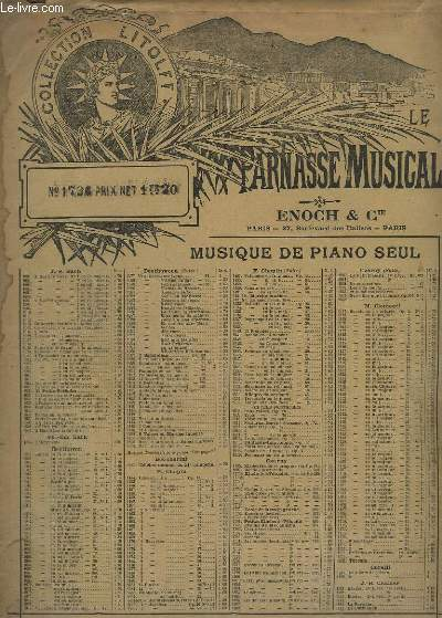 COMPOSITIONS POUR PIANO - N°30 : CONCERTO N°1 OP.25.