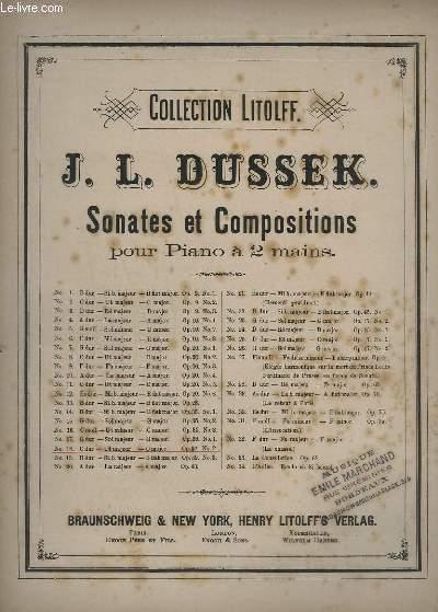 SONATES ET COMPOSITIONS POUR PIANO A 2 MAINS - N°18 : OP.30 N°2.