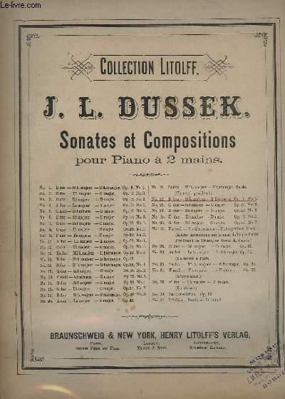SONATES ET COMPOSITIONS - N°22 : OP.45 N°1 - POUR PIANO A 2 MAINS.