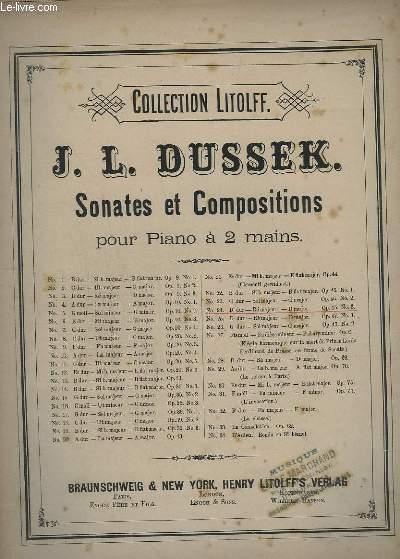 SONATES ET COMPOSITIONS - N°24 : OP.45 N°3. - POUR PIANO A 2 MAINS.