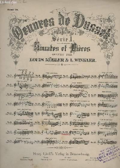 OEUVRES DE DUSSEK - SERIE 1 : SONATES ET PRIERES - N°23 : OP.45 N°2.