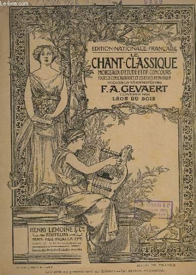 LE CHANT CLASSIQUE - N°36,37 ET 38. - TROIS ARIETTES DE GLUCK - PIANO.