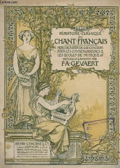 LE CHANT CLASSIQUE - N°312 - 2 MORCEAUX DE THESEE - PIANO/CHANT.