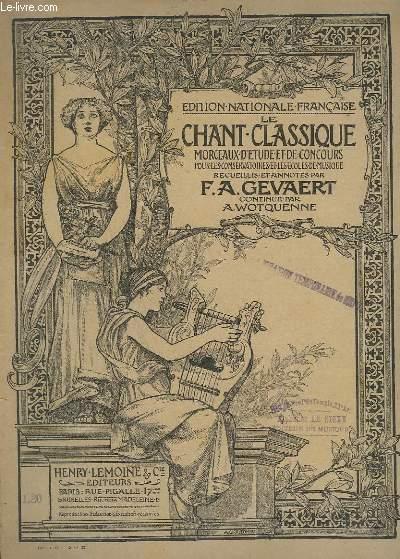 LE CHANT CLASSIQUE - N°162 - ARIETTE DE COSI FAN TUTTE - PIANO/CHANT.