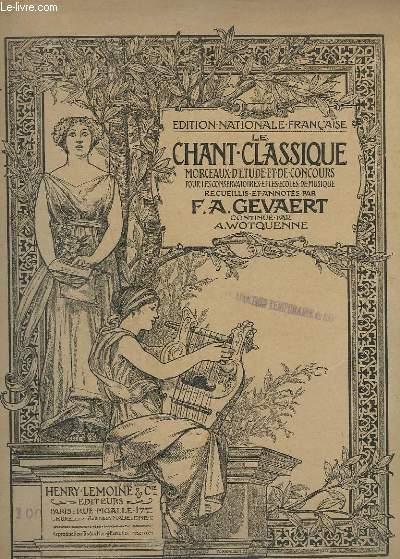 LE CHANT CLASSIQUE - N°45 - RECAPITULATIF ET AIR DE CEPHALE ET PROCRIS - PIANO/CHANT.