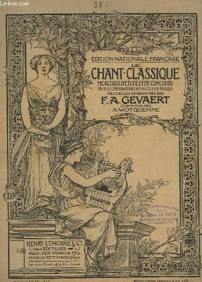 LE CHANT CLASSIQUE - N°21 : AIR D'AGATHE DANS LE FREYSCHÜTZ - PIANO/CHANT.
