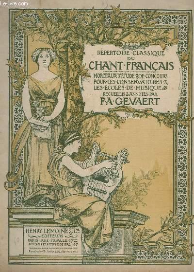LE CHANT CLASSIQUE - N°65 - ARIETTE DES DEUX AVARES - PIANO.