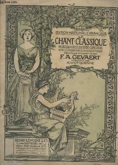 LE CHANT CLASSIQUE - N°324 - RECAPITULATIF ET CHANT PASTORAL DU MESSIE  - PIANO.