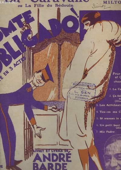 LA CARAVANE OU LA FILLE DU BEDOUIN - N°1 - PIANO ET CHANT.