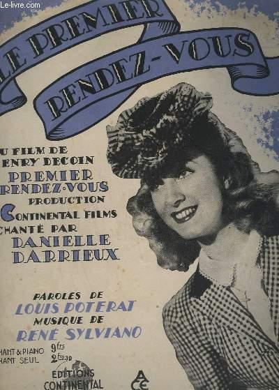LE PREMIER RENDEZ-VOUS - PIANO ET CHANT.