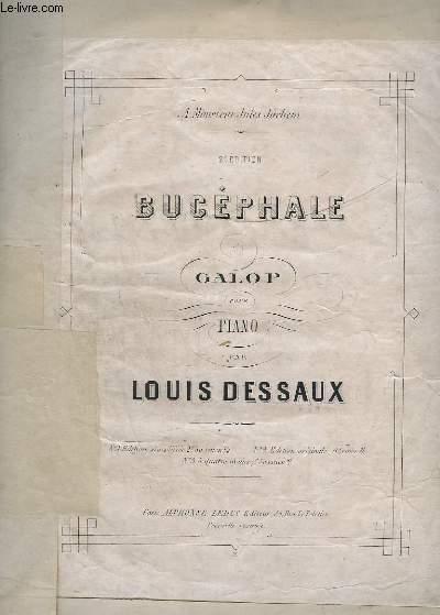 BUCEPHALE - GALOP POUR PIANO - 2° EDITION.- N°1 : EDITION SIMPLIFIEE.