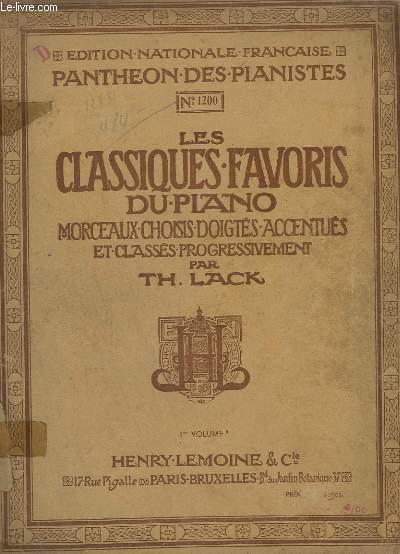 LES CLASSIQUES FAVORIS DU PIANO - 1° VOLUME B - PETITE CHANSON + PASTORALE + RONDINO + MENUET + PAUVRE PETITE ORPHELINE + AIR COSAQUE + THEME + FINALE + SICILIENNE + MENUET + ALLEGRETTO + PIACE DE CLAVECIN + SONATINE...