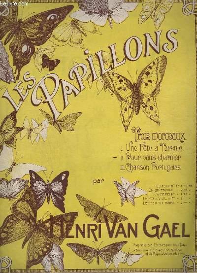 LES PAPILLONS - N°2 : POUR VOUS CHARMER - POUR PIANO.